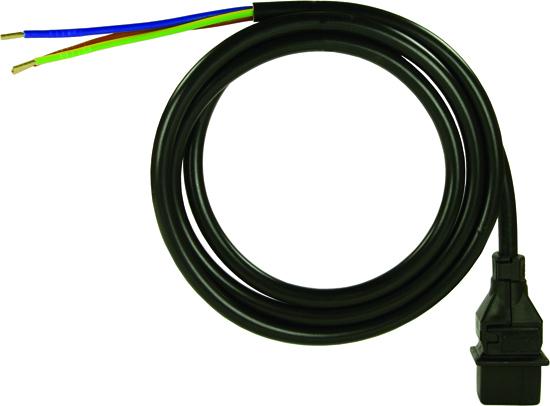 Câble de 1050 mm avec prise pour bobine d'électrovanne DANFOSS