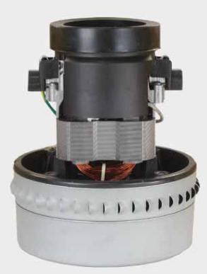 Turbine d'aspiration à 2 étages, 230 V / 50 Hz, 1200W.