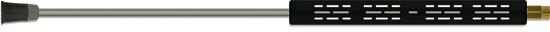 Lance avec demi-coquilles, livrée sans buse, acier zingué, 500mm