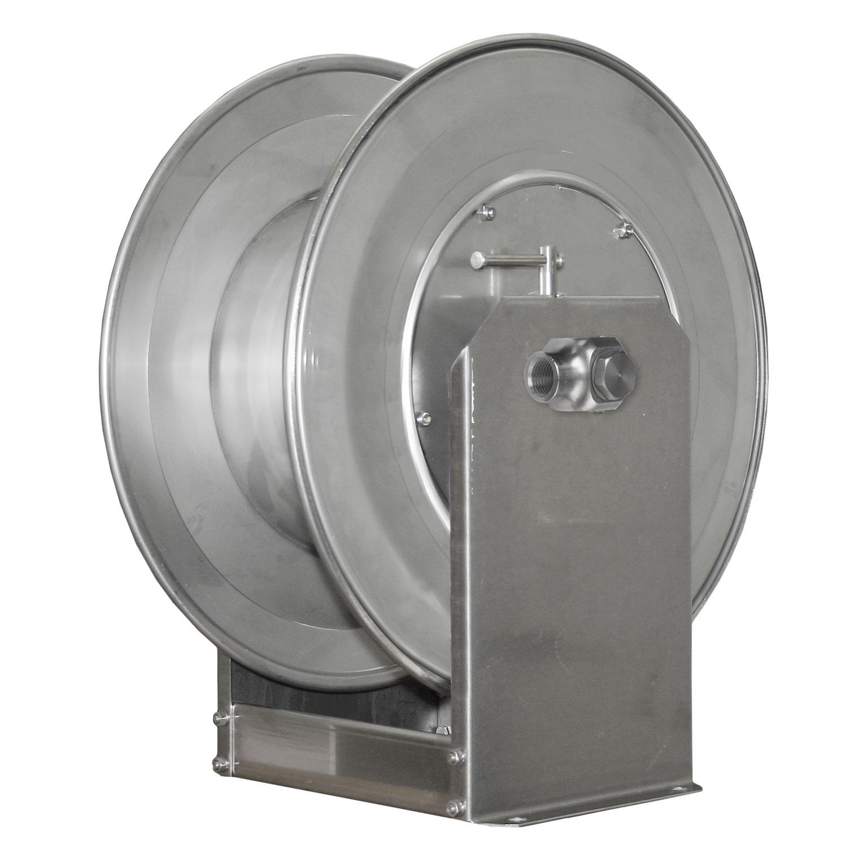 ENROULEUR MANUEL 70M 1/2F INOX