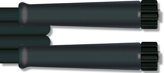 Flexible haute pression 15 mètres, 210 bar 150°C, 1 tresse métallique DN6 M22F-M22F