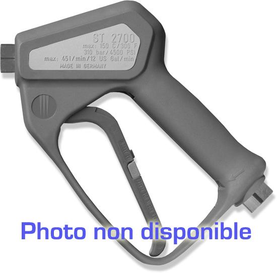 Pistolet professionnel avec système LTF . INOX, clapet avec siège PEEK max. 125 bar, 80l/mn