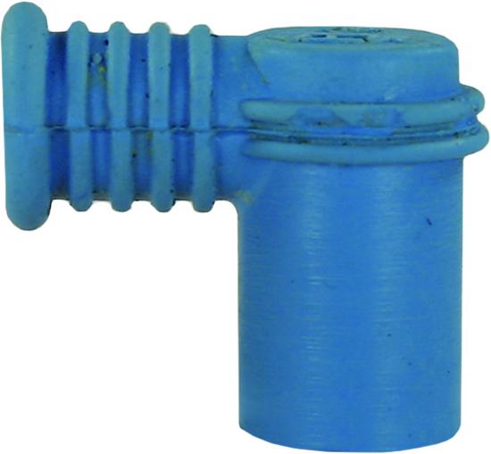 Bleu coudé pour câbles haute tension références : HP85520,  hP85540, HP85550