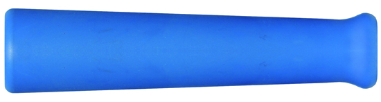 Manchette anti-courbure caoutchouc bleu