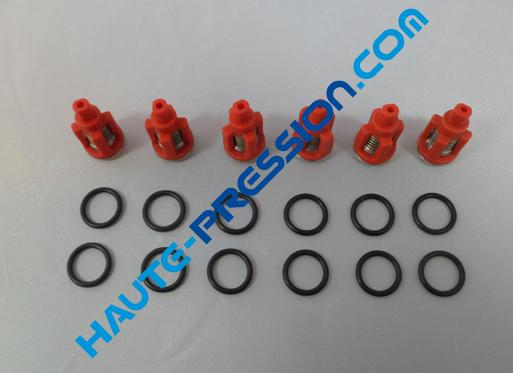 Kit de 6 clapets pour pompe HP