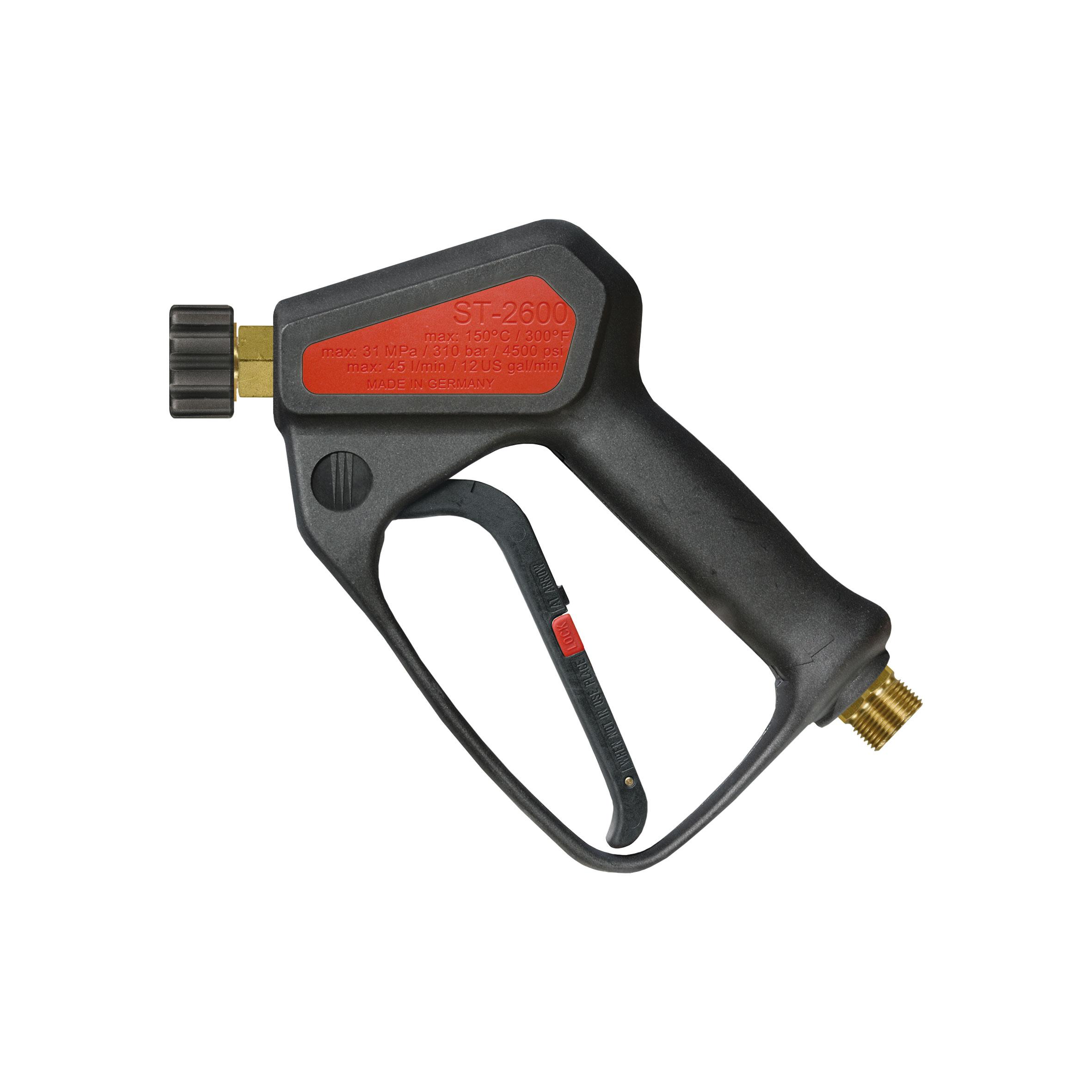 Pistolet haute pression professionnel avec système LTF, max. 310 bar