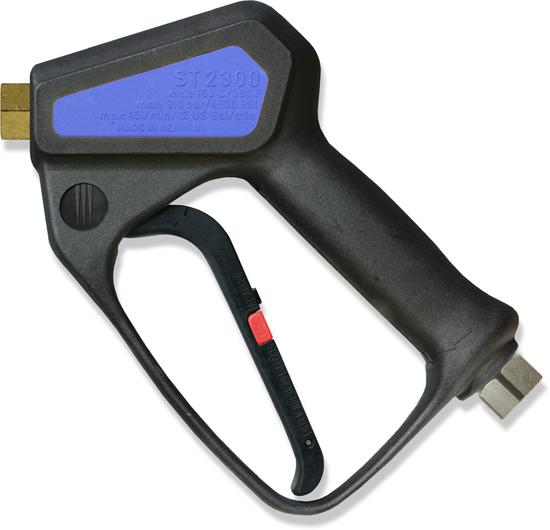 Pistolet professionnel avec clapet à bille céramique avec système LTF, max. 350 bar, 45l/mn