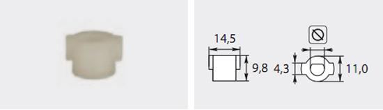 Accoulement pompe à fioul 6mm