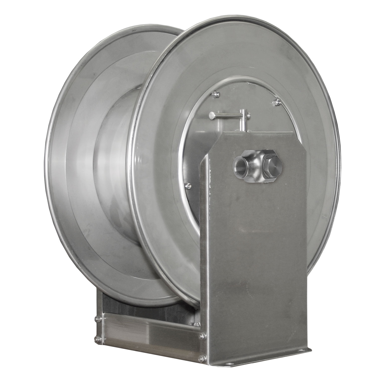 ENROULEUR MANUEL 40M 3/4F INOX