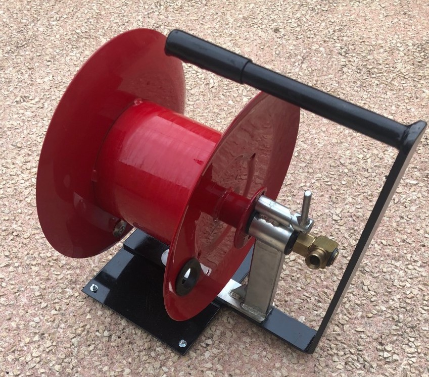 Enrouleur haute pression portable professionnel acier 250 Bar