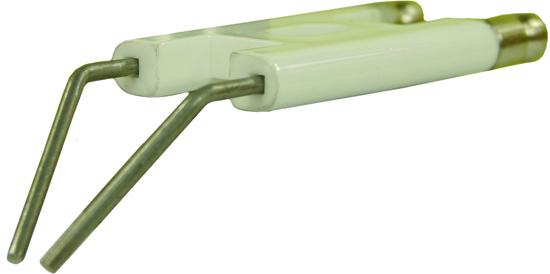 Electrode haute tension jumelée 'IDROMATIC'