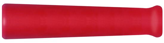 Manchette anti-courbure caoutchouc rouge