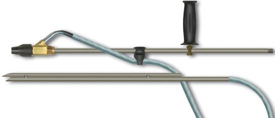 Kit de sablage sans tube tuyau d'aspiration 5m, max. 200 bar
