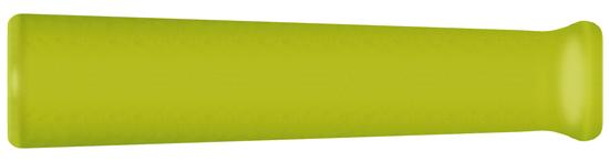 Manchette anti-courbure caoutchouc jaune
