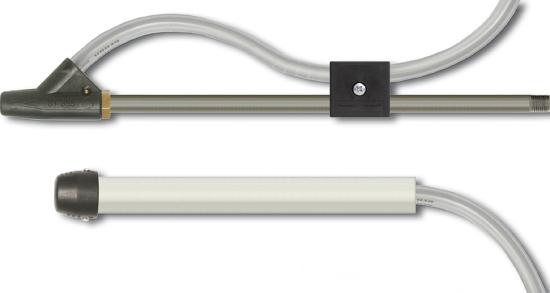 Kit de sablage tube 300 mm tuyau d'aspiration 3m, max. 90 bar