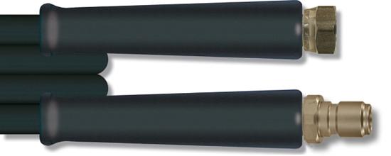 Flexible H.P. 10m 2 tresses métalliques robe mince 400 bar, 150°C