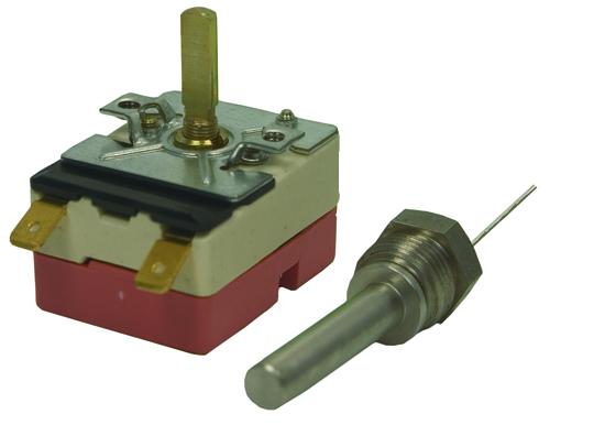 Thermostat avec sonde à visser 30-150°C