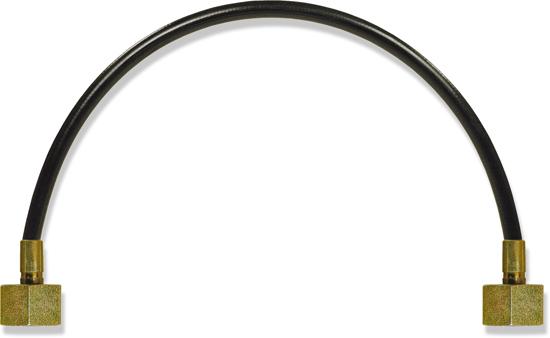 Flexible de liaison 500mm 250 bar 65¡C 1/4''F-1/4''F