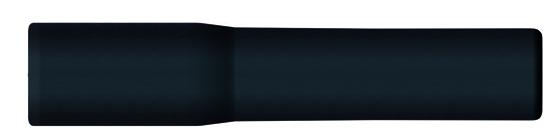 Manchette anti-courbure PVC noir
